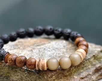 Meditation Bracelet Mens Beaded Bracelet Zen Gifts For Boyfriend Gift For Men Gift For Him Husband Gifts Boho Jewelry Mala Bracelet