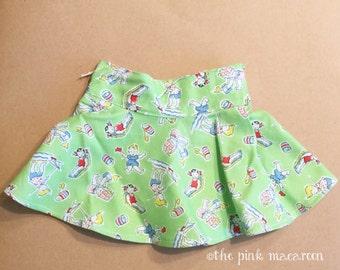 """American Girl Doll Skirt, 18"""" Doll Skirt, Vintage Inspired Doll Skirt"""