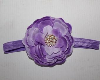 Flower Jeweled headband