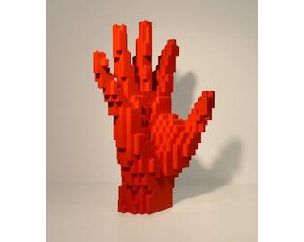 LEGO Sculpture - High Five Hand