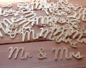 Mr & Mrs Wedding Confetti