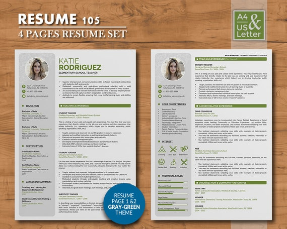 40 coupon on resume template 4 pages