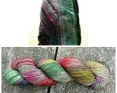 Quartz sock - Charred Tourmaline