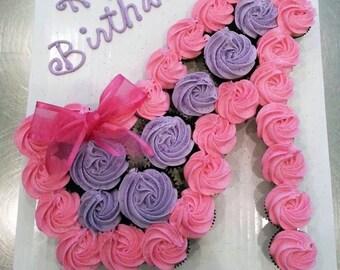 Shoe Cupcake cake