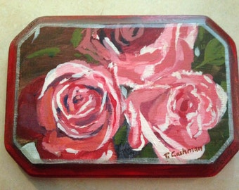 Rose Petal Plaque