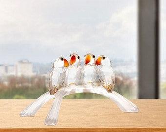 Swarovski Baby Love Birds