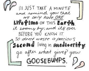 Goosebumps Print