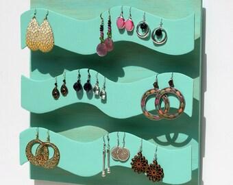Jewlery display/organizer~cool beach waves