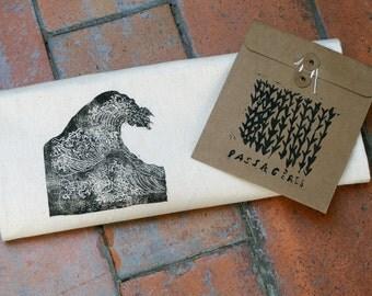 Large wave Hokusai - bag / Tote Bag with cotton, vague reasons