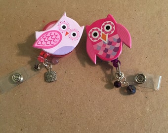 Owl badge holder