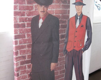 Pattern BUTTERICK 3241 GANGSTERS