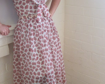 Stunning vintage 1950s Jonathan Logan dress