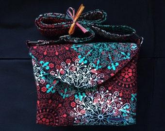 Shoulder Bag(Black&Red)