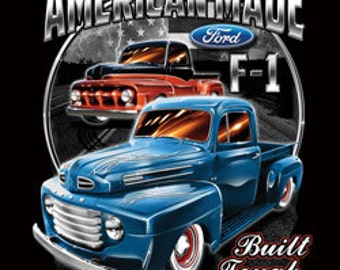 Ford American Built Tough Made Printed Tee Shirt