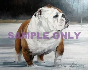 Custom Animal Portrait - SAMPLE ONLY