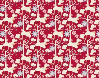 Tilda - Candy Bloom - Wildgarden Red - Limited Edition