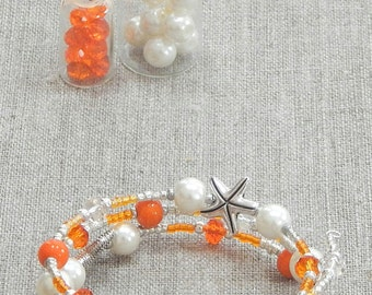 Starfish Beaded Bracelet