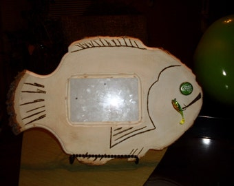 Fish picture frame