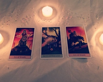 Understanding a situation - 3 card reading