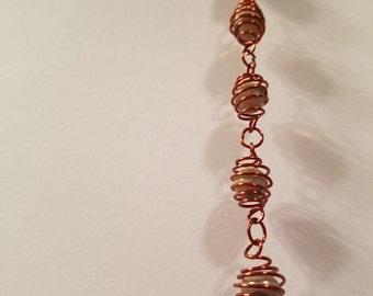 Spring Cage Bracelet