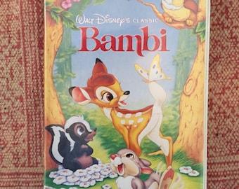 Rare Black Diamond edition Bambi VHS