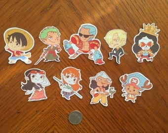 One Piece Stickers Set