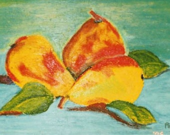 Nature Morte pears
