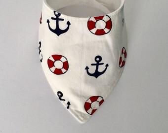 Bib style sailor bandana