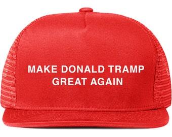 Make Donald Tramp Great Again-trucker hat