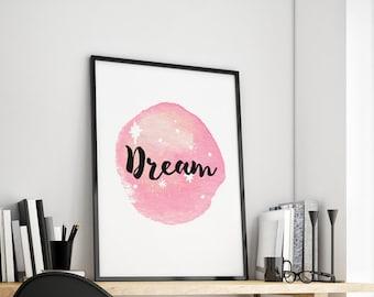 Dream gift family art print, fine art print