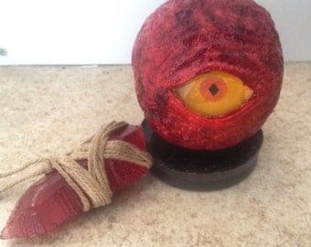 Dark souls Red eye orb inspired design prop