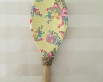 Decoupaged Wooden Spoon