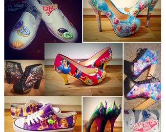 Made to order customised shoes