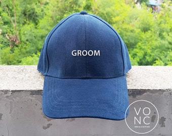 GROOM Baseball Hat Embroidery Hat Fashion Hipster Cap Cotton Cap Pinterest Instagram Tumblr