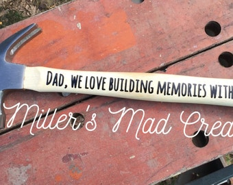 Father's Day Keepsake Hammers