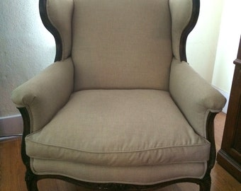 Classic 1950s Wingback Chair
