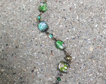 Wire Wrapped Lampwork