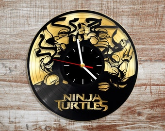 Record Wall Clock Etsy