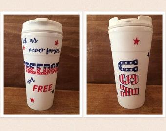 Patriotic To Go Cup