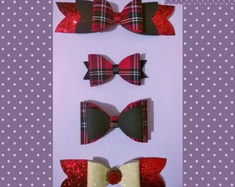 Tartan bow set