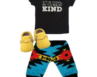 It's Cool to Be Kind Black Tee
