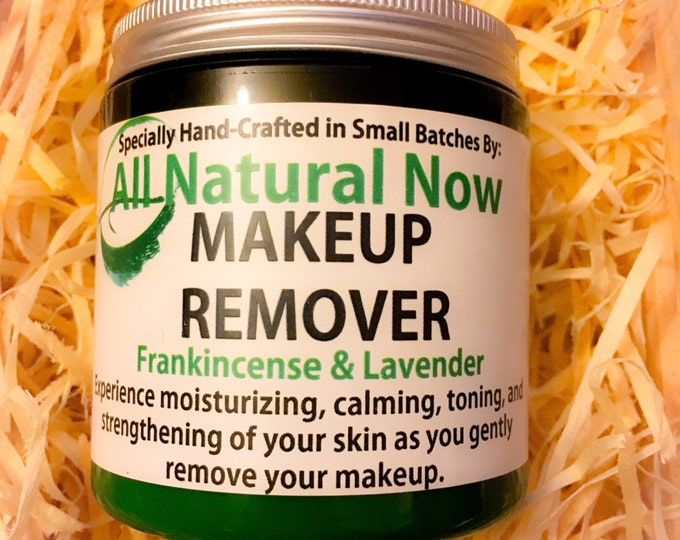 Make Up Remover/100% Pure & Therapeutic Essential Oils/Anti-Aging/Skin-Renewal/Wrinkle Fighter