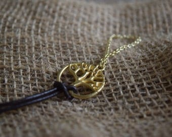 Tree of Life Hand Bracelet