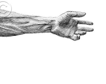 Take my hand (2013) (Print of original)