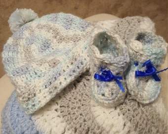 Crochet blanket bundle