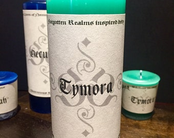Tymora, Lasy Luck scented pillar and votive candles