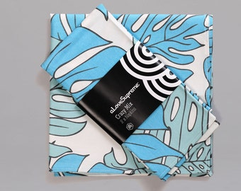 Fabric Napkin - Delicious Monster Blue