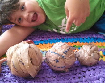 Tan plarn ball