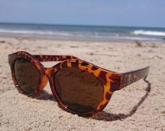 Tortoise like Sunglasses Vintage