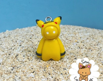 Pikachu Gang Beast Charm